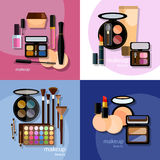 Make-up cosmetic cosmetology fashion makeover Stock Photo