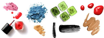 Make-up cosmetics Royalty Free Stock Image