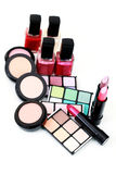 Make-up cosmetics Stock Images