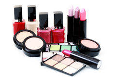 Make-up cosmetics Royalty Free Stock Photo