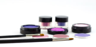 Make-up cosmetics. Stock Image