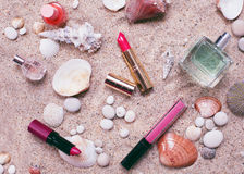 Make up cosmetics Stock Image