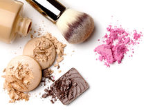 Make-up cosmetics Royalty Free Stock Photos