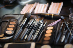 Make-up and cosmetics products Royalty Free Stock Image
