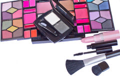 Make up cosmetics set Royalty Free Stock Photo