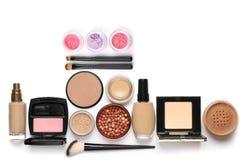 Make-up cosmetics set Stock Photos
