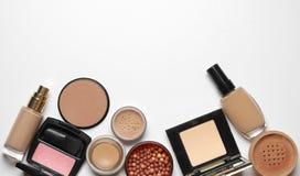 Make-up cosmetics set Royalty Free Stock Image