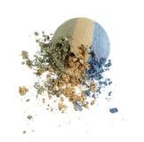Make up crushed eyeshadow Stock Photo