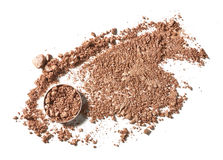 Make up crushed eyeshadow Royalty Free Stock Photo