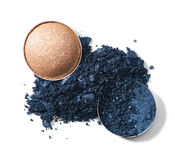 Make up crushed eyeshadow Royalty Free Stock Images