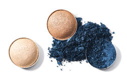 Make up crushed eyeshadow Royalty Free Stock Image