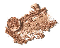 Make up crushed eyeshadow Royalty Free Stock Photography
