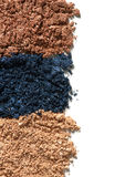 Make up crushed eyeshadow Stock Photography