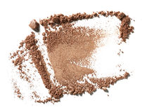 Make up crushed eyeshadow Stock Photos