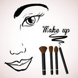 Make up design Stock Photo