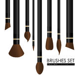 Make up design over white background, vector illustration. Royalty Free Stock Photography
