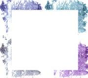 Make up esmagou o eyeshado quadro de w com espaço vazio para o texto Fotografia de Stock