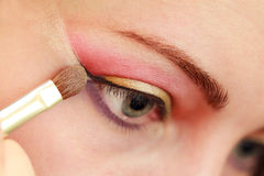 Make up eye Royalty Free Stock Photos