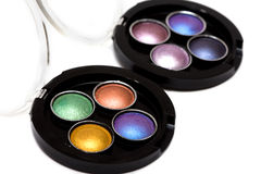 Make-up eye-shadows Royalty Free Stock Photography