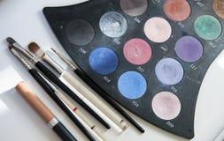 Make-up eye shadows Stock Photography