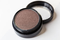 Make-up eye shadows. View from above. Royalty Free Stock Photos