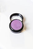 Make-up eye shadows. View from above. Royalty Free Stock Images