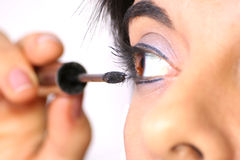 Make up eyes stock images