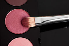 Make-up eyeshadows Royalty Free Stock Photography