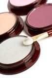Make-up eyeshadows Royalty Free Stock Images
