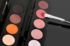 Make-up eyeshadows Stock Photos