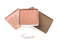 Make-up eyeshadows Royalty Free Stock Image