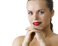 Make-up on face Stock Photos