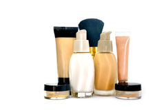 Make up foundation set Stock Photo