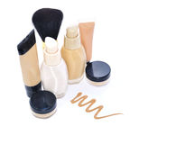 Make up foundation set Stock Image