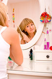 Make up girl Stock Photo