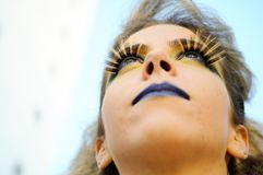 Make up girl Stock Photos