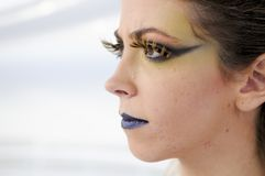 Make up girl Royalty Free Stock Photos