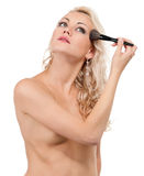 Make-up girl Royalty Free Stock Image