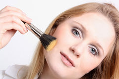 Make-up girl Royalty Free Stock Images