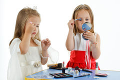 Make-up girls Stock Images