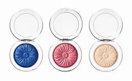 Make up glamour eyeshadows Stock Images