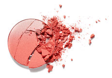 Make up ha schiacciato il fard Immagini Stock Libere da Diritti