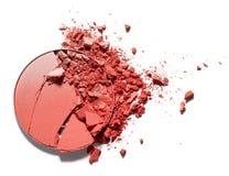 Make up ha schiacciato il fard Fotografia Stock Libera da Diritti