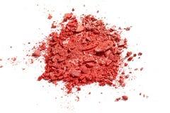 Make up ha schiacciato il fard Fotografia Stock