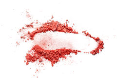 Make up ha schiacciato il fard Immagine Stock Libera da Diritti