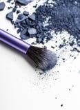 Make up ha schiacciato l'ombretto Fotografia Stock Libera da Diritti
