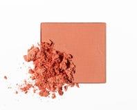 Make up ha schiacciato la polvere Fotografia Stock