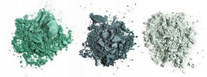 Make up ha schiacciato la polvere Fotografie Stock Libere da Diritti