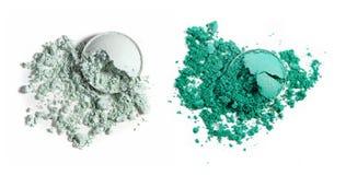 Make up ha schiacciato la polvere Fotografia Stock Libera da Diritti