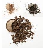 Make up ha schiacciato la polvere Immagini Stock Libere da Diritti